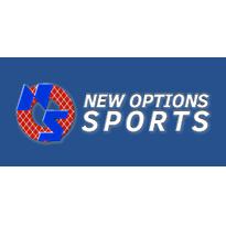 New Options Sports Background Logo
